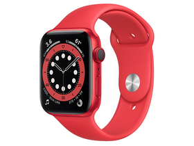 Apple Watch Series 6 GPS + Cellular 44 mm (PRODUCT)RED mit Sportarmband (PRODUCT)RED