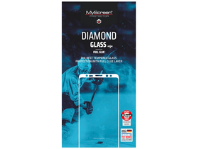 Myscreen Diamond Glass Edge Displayschutzfolie für Samsung Galaxy A6, schwarz