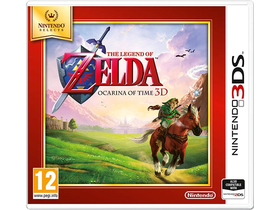The Legend of Zelda: Ocarina of Time Select 3DS játék
