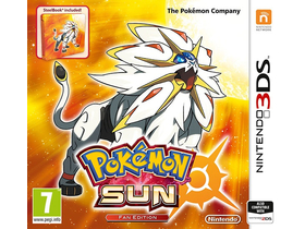 Pokémon Sun Steelbook Edition 3DS játék
