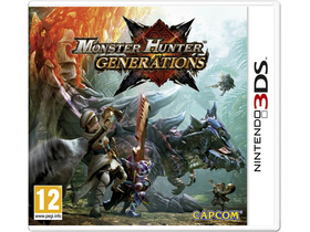 Monster Hunter Generations 3DS játék