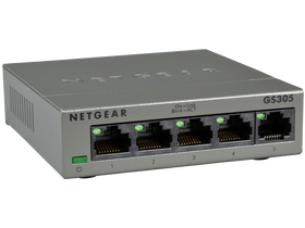 Netgear GS305-100PES 5 port gigabit switch (metalno kučište)