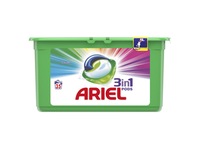 Gel capsula Ariel Color 3 in 1, 35 bucati