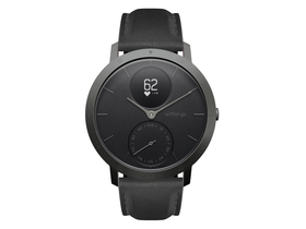 Withings Steel HR Limited Edition (40mm) okosóra, pala szürke-fekete