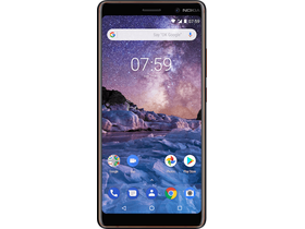 Nokia 7 Plus Dual SIM, Black (Android)