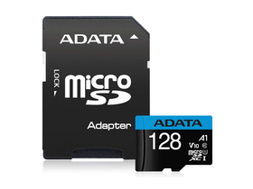 Карта памет DATA MicroSDXC 128GB + адаптер UHS-I CL10 (100/25)