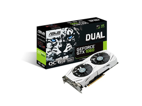 Placa video Asus nVidia Dual GTX 1060 6GB GDDR5 - DUAL-GTX1060-O6G