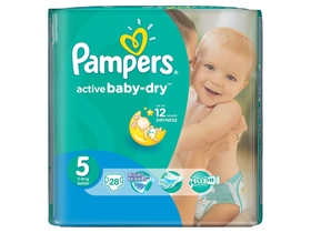 Pampers Active Baby Carry pack pelenka junior (28db)