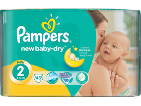 Pampers Active Baby Carry pack mini 43 бр.