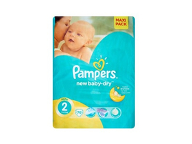 Scutece Pampers Active Baby-Dry  2 mini 76 buc.