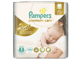 Pampers Premium Value Pack pelenka 1 new baby 88 db