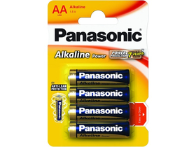 Panasonic Alkaline Power LR6APB-4BP AA batéria (4ks)