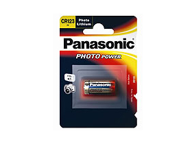 Panasonic CR123A 1400mAh 3V литиева фото-батерия
