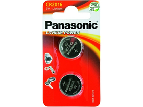Panasonic CR2016L/2BP lítium gombelem (2db)