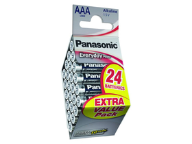 Panasonic Everyday Power LR03EPS-24PD AAA mikro 1.5V batéria (24ks)