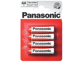 Panasonic Red Zinc AA 1.5V  R6R-4BP (4kom.)