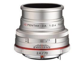 Обектив Pentax HD DA 70/F2.4 AL - Limited Edition,сребърен