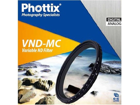 Phottix meniteľný VND-MC filter 52mm