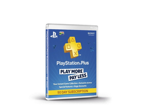 Абонамент PlayStation Plus за 90 дни