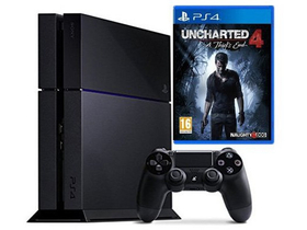 PlayStation® PS4 1TB Uncharted 4: A Thief `s End konzol