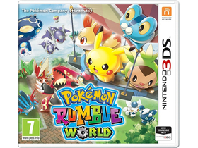 Pokémon Rumble World 3DS játék