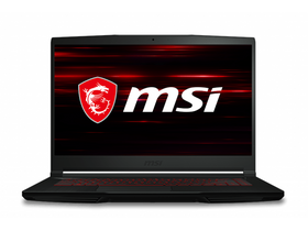 MSI GF63 Thin 10SCSR (9S7-16R412-1283) notebook, HUN, čierny