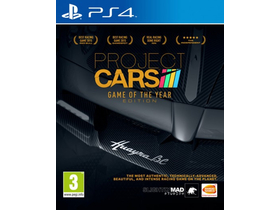 Project Cars Game Of The Year PS4 játékszoftver