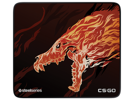 Mousepad gamer Steelseries Qck+ Limited CS:GO Howl Edition
