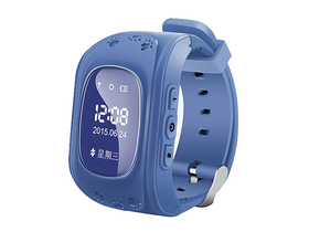 Global Q50 GPS Smartwatch für Kinder, blau