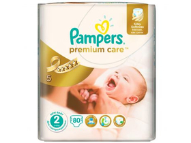Pampers Premium Care 2 pelenka (2x80db)