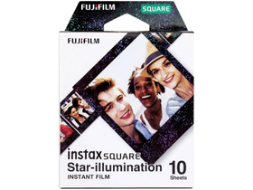 Fujifilm Instax Square Film, Star Illumination, 10 Stk.