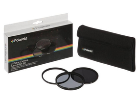 Set filtru Polaroid (UV, CPL, ND8) + 4 tocuri filtru 52 mm