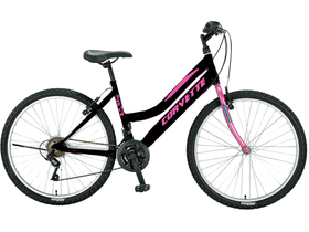 "Corvette Crystal Mountain Bike ženski bicikl, 26"", crni/pink"