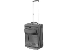 Samsonite Cityvibe Laptop Duffle with Wheels Expandable kofer, 55 cm, siva