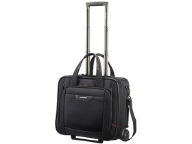 "Samsonite Pro-DLX 4 Toploader with Wheels 16.4"" utazótáska, fekete"