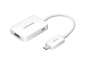 Samsung Galaxy S4 HDTV adapter,biely