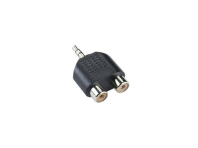 Sbox 3,5mm – 2 x RCA M/F adapter