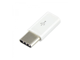 Adaptor Sbox USB 2.0-Type-C, alb