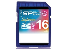 Silicon Power SDHC 16GB UHS-I Superior (90MB/s | 45MB/s) U3 spominska kartica