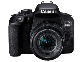 Canon EOS 800D kit (18-55 IS STM objektiv)