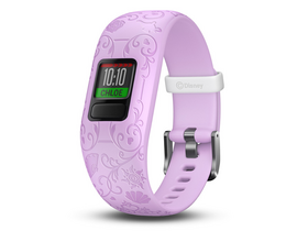 Garmin vivofit junior 2 Disney Princess Aktivitäts-Tracker, lila, mit verstellbarem Band