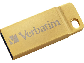 Verbatim Exclusive Metal 64GB USB 3.0 pendrive, arany