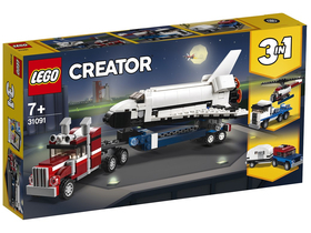 LEGO® Creator 3in1 - Transporter für Space Shuttle (31091)