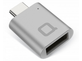Nonda USB Type-C - USB 3.0 Type-A mini adapter, szürke