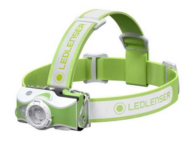 Ledlenser MH7 outdoor LED челник, зелен (600lm/200m, 1xLi-ion)
