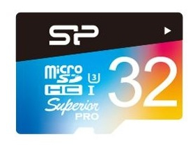 Silicon Power microSD 32GB Superior UHS-1 U3 color карта памет