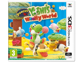 Poochy & Yoshi`s Woolly World 3DS játék
