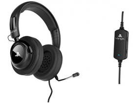 Venom PC/PS4/PS3 Vibration Stereo Headset,črn