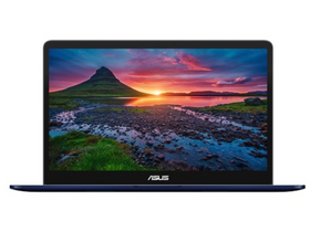 Laptop Asus Zenbook UX550VE-BO150R, albastru + Windows 10 Pro, layout tastaura HU