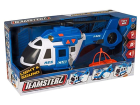Teamsterz Light & Sound Helicopter Rescue 4X4